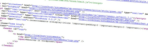 HTML door Zynixmedia
