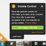 Cookie melding verplicht